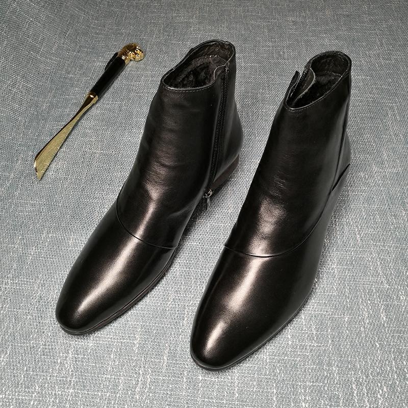 英伦商务男棉鞋