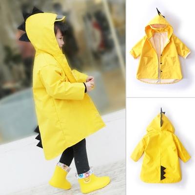 2-6岁儿童雨衣男童7小童雨鞋幼儿园宝宝雨披女童韩国小孩恐龙防水