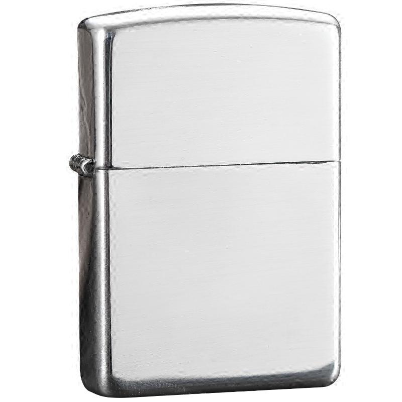 打火机zippo正版美国原装正品 纯银拉丝镜子 纯银机15号 珍藏送礼
