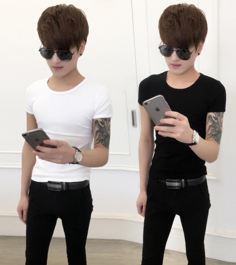 韩版修身显瘦t恤