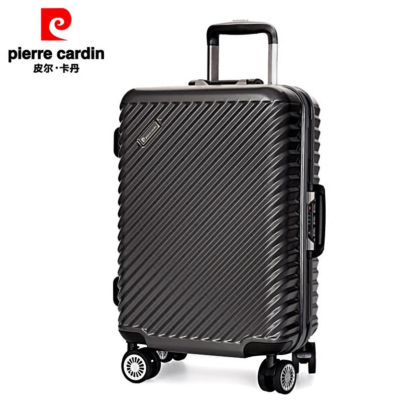皮尔卡丹拉杆箱万向轮男行李箱包登机旅行密码箱子HG1070Y3-24寸