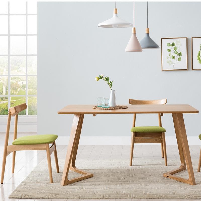 电脑桌会议实木餐桌洽谈桌办公桌