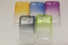 HTC G13手机壳水晶雨滴渐变手机套A510e保护壳G13手机套G13保护套