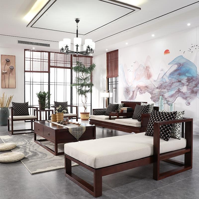 禅意家具新中式客厅