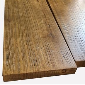 木板定制实木原木松木榆木吧台板办公餐桌面板长方形一字隔板定做
