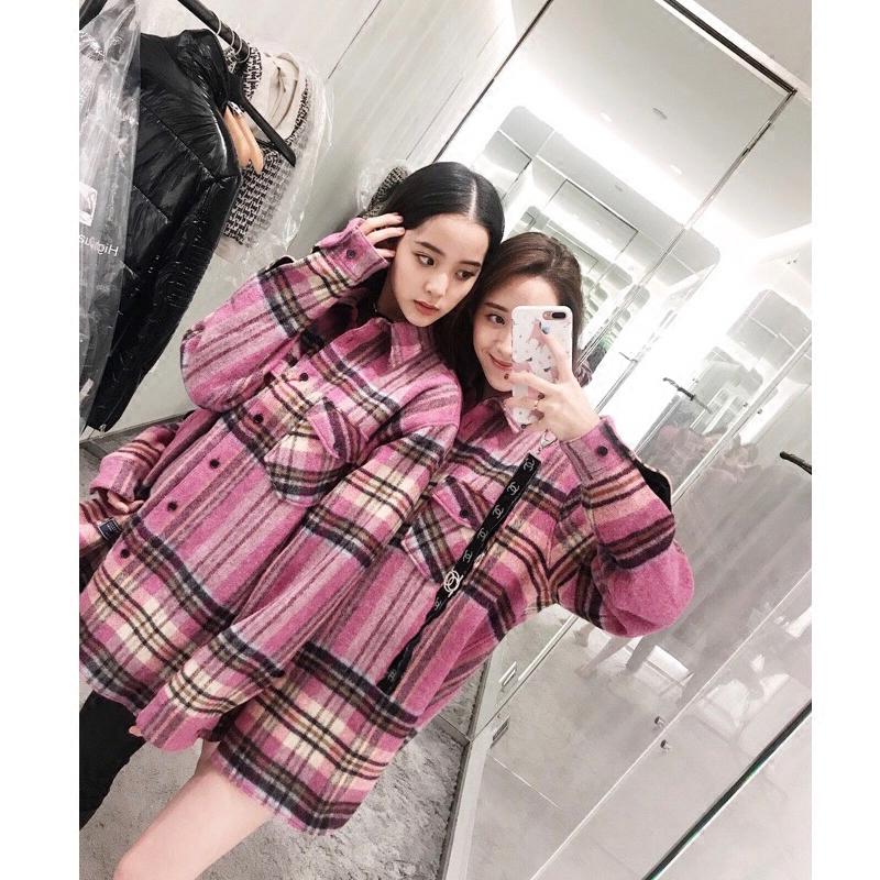 韩版明星同款大衣
