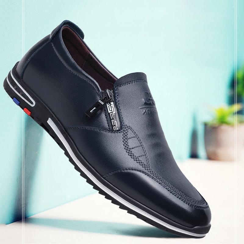 青年运动皮鞋