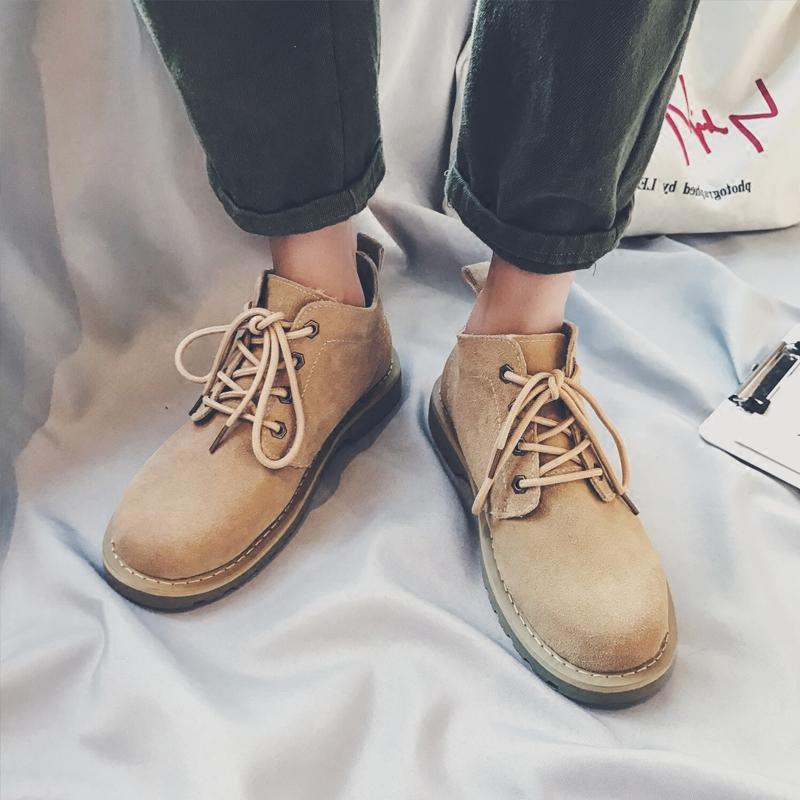 日系马丁靴