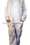 Clean clothing coveralls hooded with pockets and masks with pockets anti-static protective clothing detachable Velcro