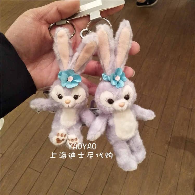 上海迪士尼乐园 史黛拉芭蕾兔毛绒公仔钥匙扣挂件背包挂饰卡通