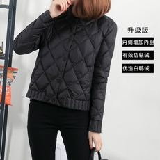 2018 short down jacket female winter light slimming new short jacket ultra-thin Korean version of the thin down jacket thin