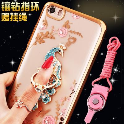 小米5手机壳MI5保护套五M5软胶2015628水晶带钻2015201尊享版5.15