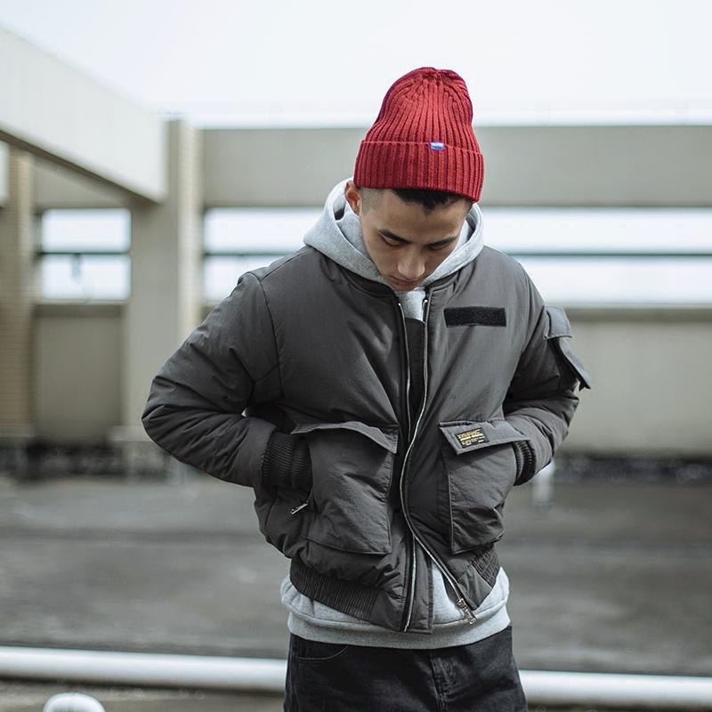 BDCT 日系复古工装棉服外套男  冬季美式休闲潮男加厚棒球服棉衣1元优惠券