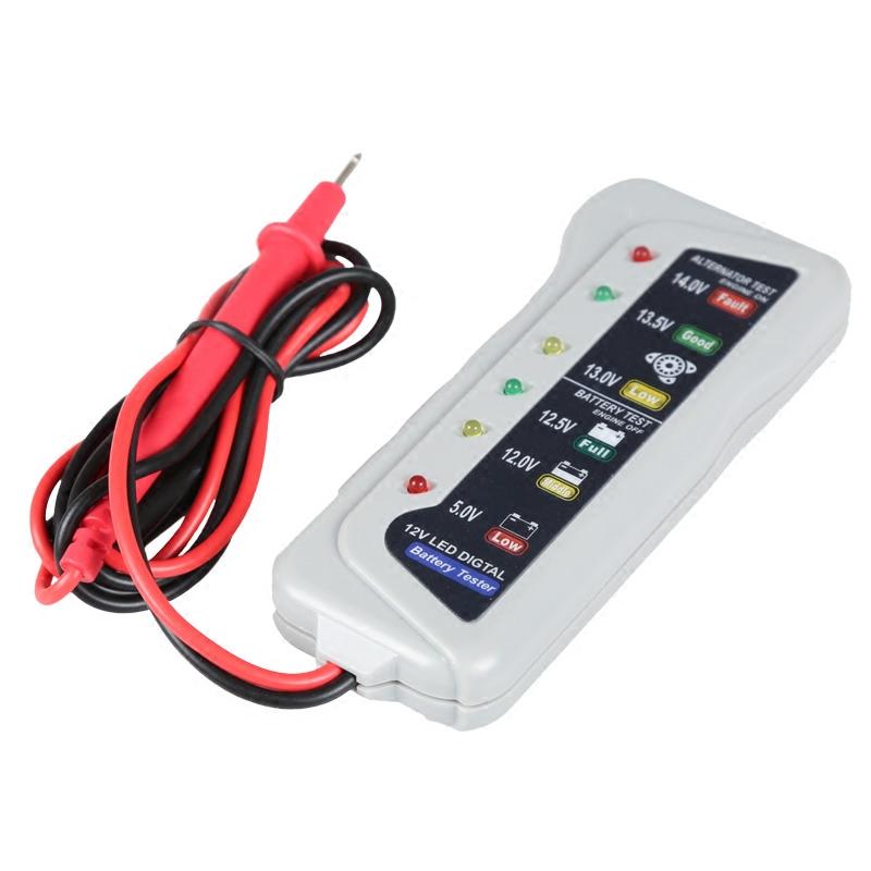 试灯汽车用测电笔多功能线路检仪测电路维修工具12V专用试电笔夹