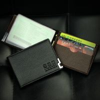 Driver's license leather case driving card set multi-function ID card package male ultra-thin soft female motor vehicle driver's license folder