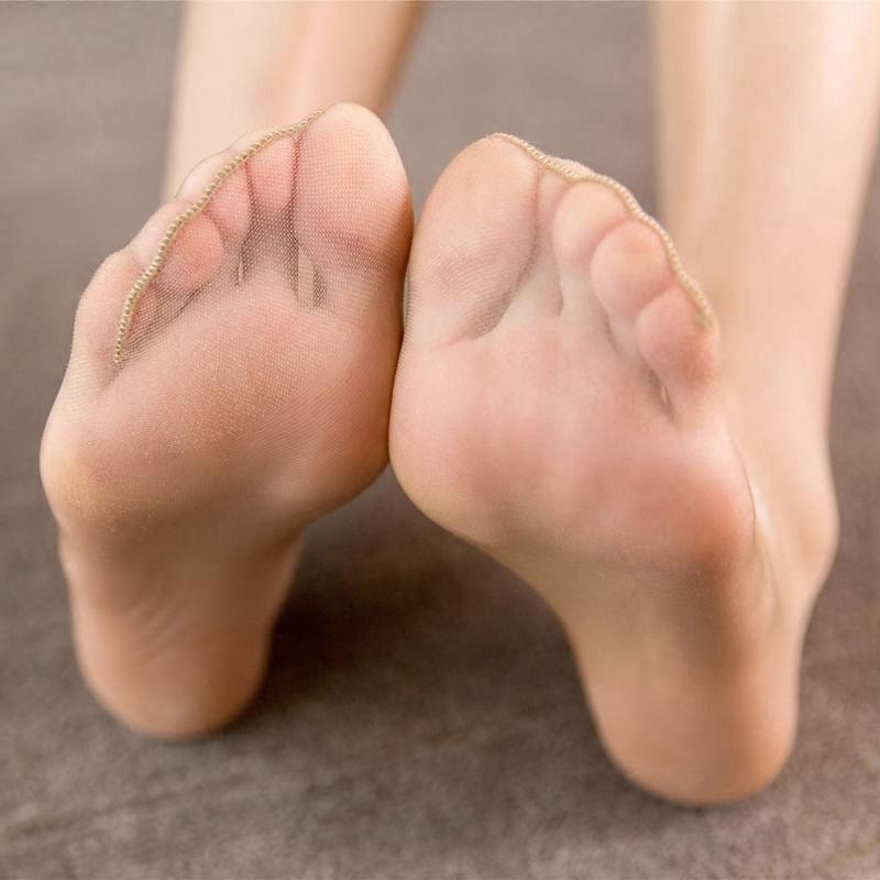 丹吉娅丝袜超薄性感连裤袜SL0363单面加档包芯丝8D脚尖透明