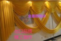 Wedding cloth 幔幔 幔 幔 舞台 舞台 stage cloth decoration book-style 幔 婚 wedding props supplies