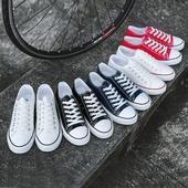 男鞋帆布鞋男夏季休闲男士小白鞋子学生板鞋低帮韩版百搭秋季布鞋