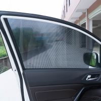 Car sunshade window sunscreen insulation electrostatic film can lift glass sunshade black sun block supplies