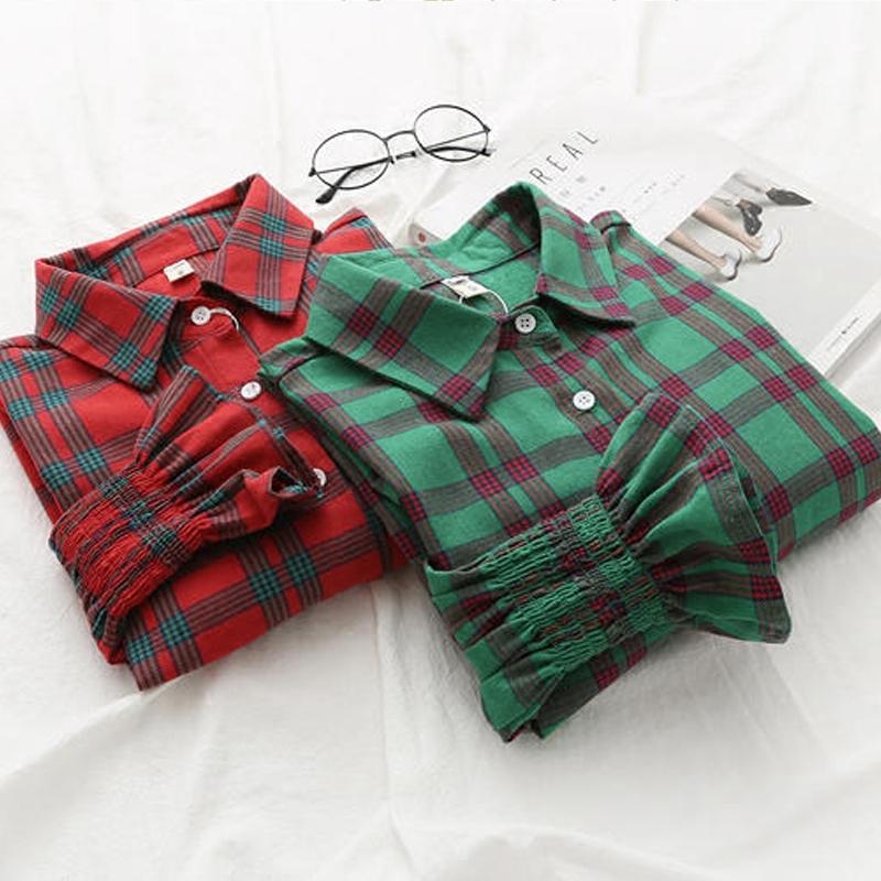 绿色日韩学生衫