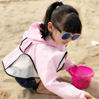2019 new girls boys children's sun protection clothing ultra-thin breathable UV summer children's Korean version of the service