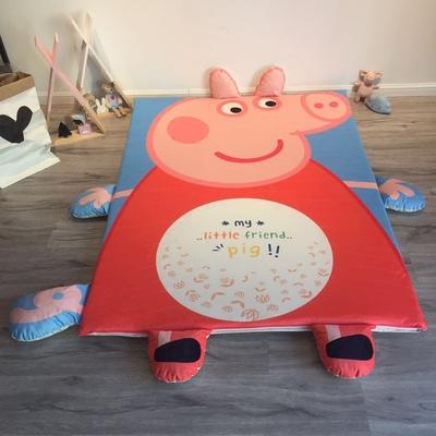 春夏懒人床加绒床垫儿童卡通地铺睡垫婴儿宝宝爬爬垫爬行垫防摔垫好不好