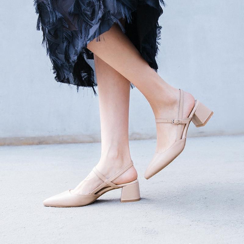 真皮优雅凉鞋