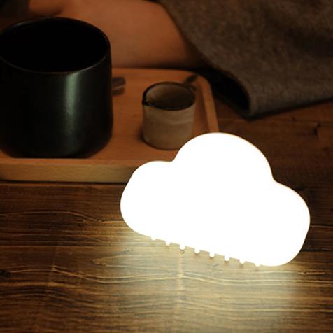 小夜灯宝宝儿童卧室床头灯婴儿哺乳喂奶灯 led 云朵声控感应灯睡眠