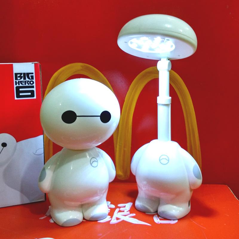 充电折叠儿童小学生护眼阅读写字灯 led 节能创意 可爱卡通学习台灯