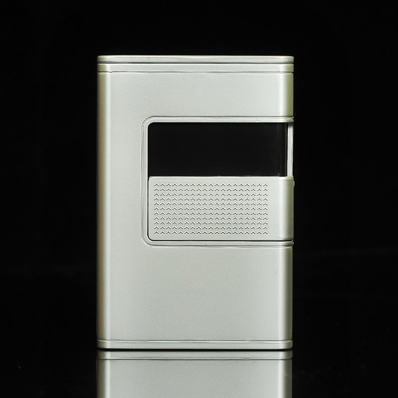 支装薄多款全金属男士便携香菸盒烟壳子烟盒套翻盖携自动弹 20 烟盒