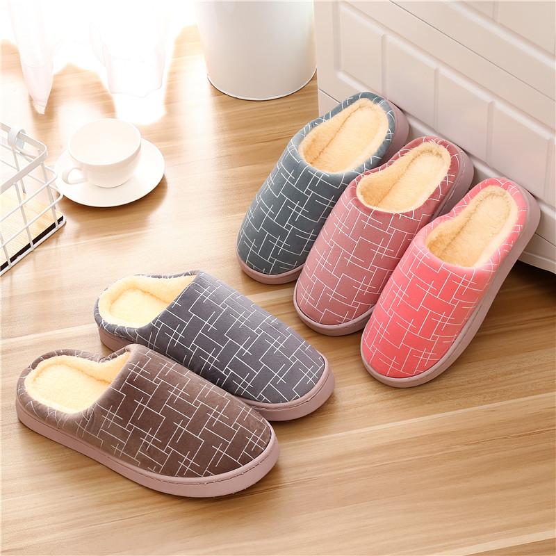 冬季男士棉拖鞋男厚底加绒扦脱鞋室内保暖锦鞋冬天包脚家用毛绒土