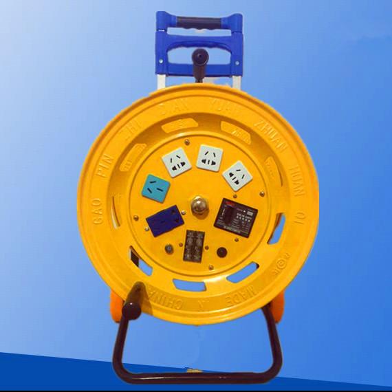 线带手提护套整理转盘电工手摇线槽接电缆线加厚线盘收线器卷线盘