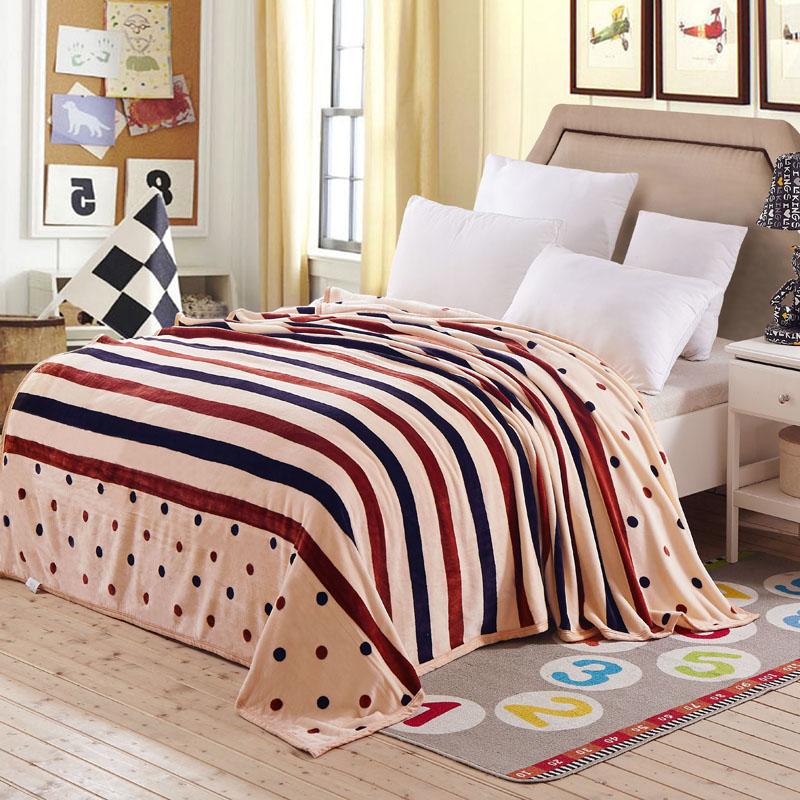 新品云貂绒铺床毛毯学生宿舍加厚单双人冬季毯子法兰绒床单毛毯