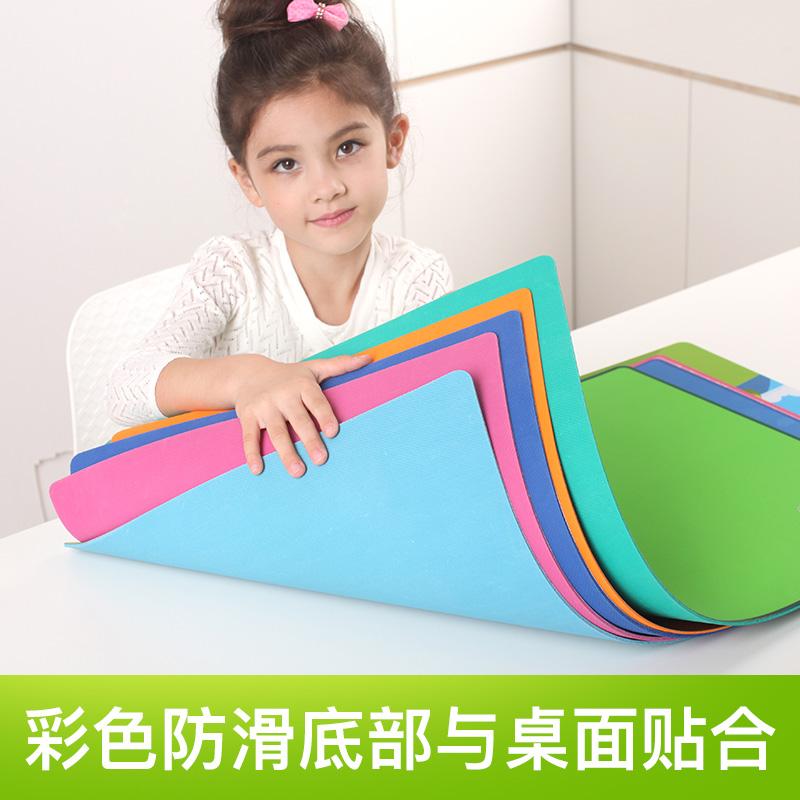 台儿童学习桌垫超大号桌硬面垫护眼可爱环保写字垫 书桌垫