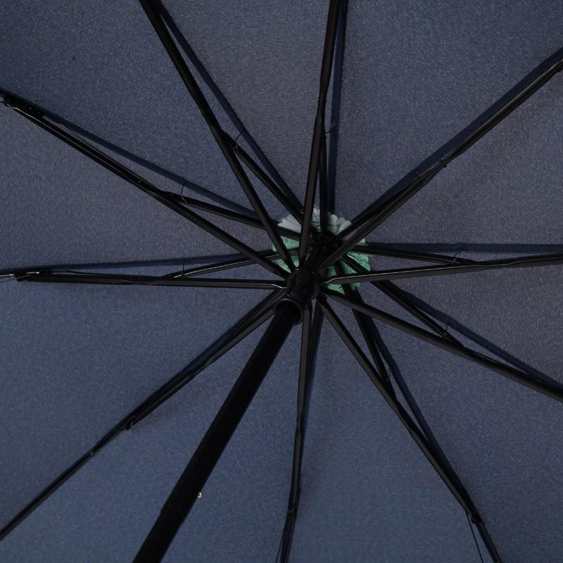 拼色男士女士双层加大加固加强防风双人折叠雨三折商务