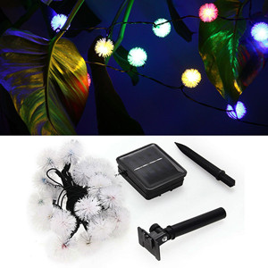 Fancy Furry Solar Fairy Light
