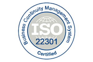 ISO 22301 Certificate