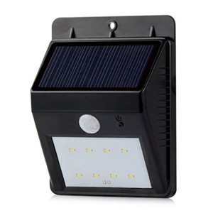 Wall Mounted LED Lamp Solar Outdoor Lighting Kits