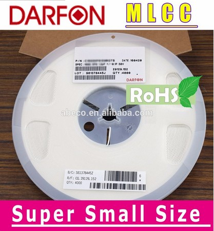 X5R 01005 Super Small Size Capacitor