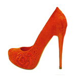 Red Bridal Dress Shoes