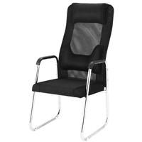 弓形椅子高靠背电脑椅家用四脚椅学生宿舍椅麻将椅办公椅网布休闲